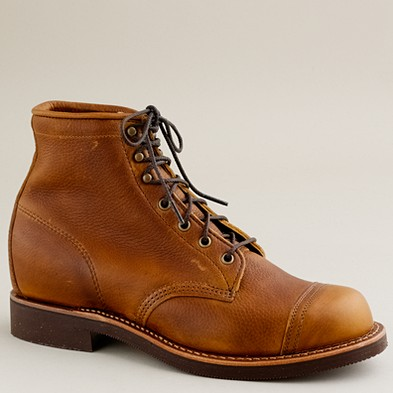 for him cap toe work boots a modest obsession